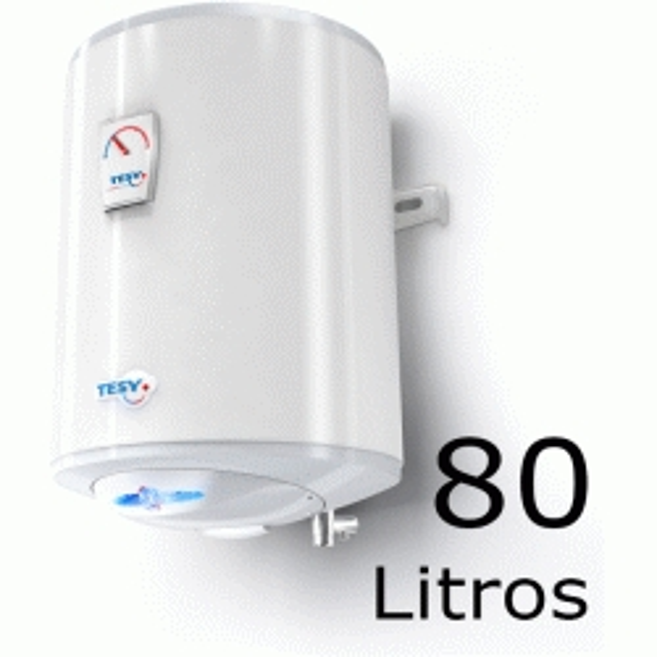 TERMO ELECTRICO MODELO BILIGHT DE 80 LITROS VERTICAL CON REGULACION DE TEMPERATURA TESY