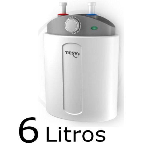TERMO ELECTRICO BILIGHT COMPACT 6 Lts INSTAL. DEBAJO DE LA PILA CON REGULACION DE TEMPERATURA TESY