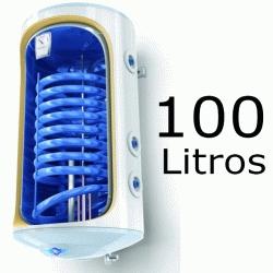 INTERACUMULADOR ELECTRICO BILIGHT DE 100 LITROS TOMAS DERECHA CON RESISTENCIA DE 2000W Y ANODO TESY