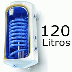 INTERACUMULADOR ELECTRICO BILIGHT 120 LITROS TOMAS DERECHA CON RESISTENCIA DE 2000 W. Y ANODO TESY