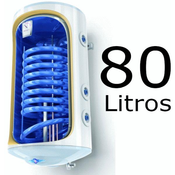 INTERACUMULADOR ELECTRICO BILIGHT DE 80 LITROS TOMAS DERECHA CON RESISTENCIA DE 2000 W. Y ANODO TESY