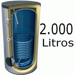 INTERACUMULADOR EVS DE 2000 LITROS 8 BAR TESY