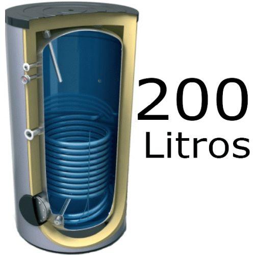 INTERACUMULADOR EVS DE 200 LITROS 8 BAR TESY