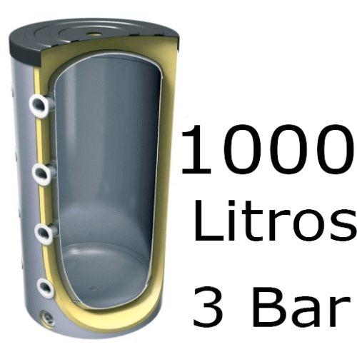 ACUMULADOR DE 1000 LITROS V-1000 99 ( DEPOSITO DE INERCIA ) 3 BAR TESY