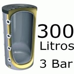 ACUMULADOR DE 300 LITROS V-300 ( DEPOSITO DE INERCIA ) 3 BAR TESY