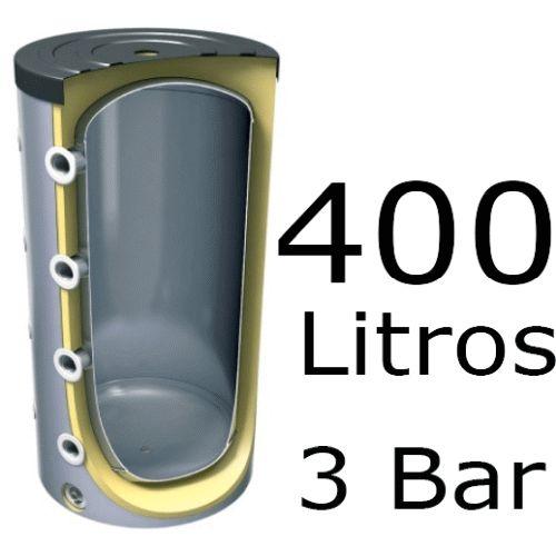 ACUMULADOR DE 400 LITROS V-400 ( DEPOSITO DE INERCIA ) 3 BAR TESY