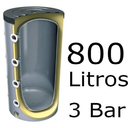 ACUMULADOR DE 800 LITROS V-800 ( DEPOSITO DE INERCIA ) 3 BAR TESY