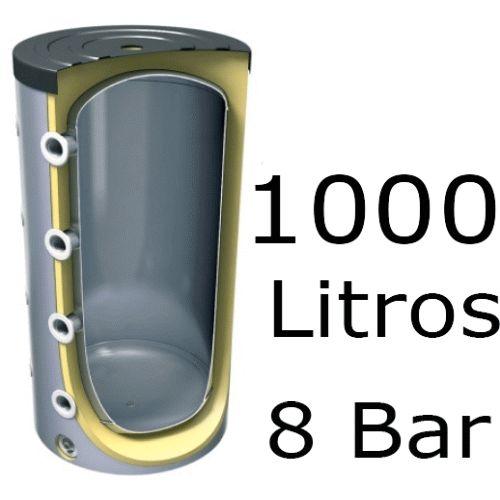 ACUMULADOR DE 1000 LITROS EV-1000 ( DEPOSITO DE INERCIA ) 8 BAR TESY