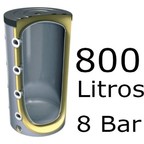 ACUMULADOR DE 800 LITROS EV-800 ( DEPOSITO DE INERCIA ) 8 BAR TESY